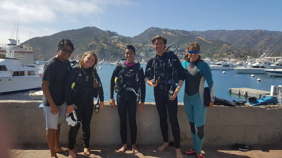 Scuba Certification During Camp Floating Sea Camp